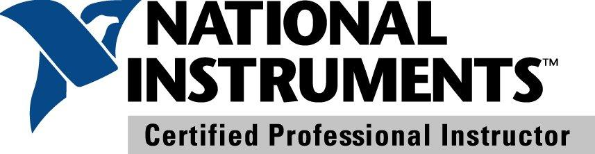 NI Certified Professional Instructor Logo